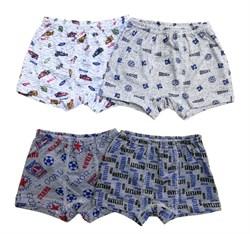 Трусы-шорты для мальчиков (кулирка), ТК 004 - фото 6885