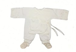 Комплект для новорожденного 5 предметов (интерлок), КИ 010 - фото 7796