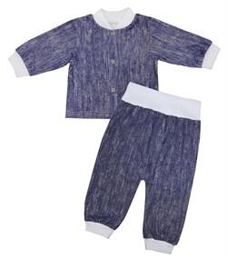 Комплект для новорожденных  Джинс (кулирка), КК 00778 - фото 8498