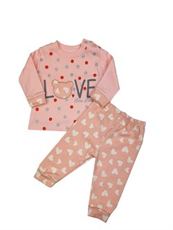 Комплект Love для девочки, Т 1128 - фото 8681