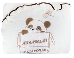 """Комплект в кроватку 7 предметов """"Любимый подарочек"""", КДП 001 - фото 8983"""