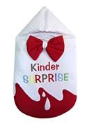Конверт на выписку Киндер-сюрприз (весна-осень) , КВ 012