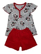 Костюм домашний, пижама (кулирка), КДК 001